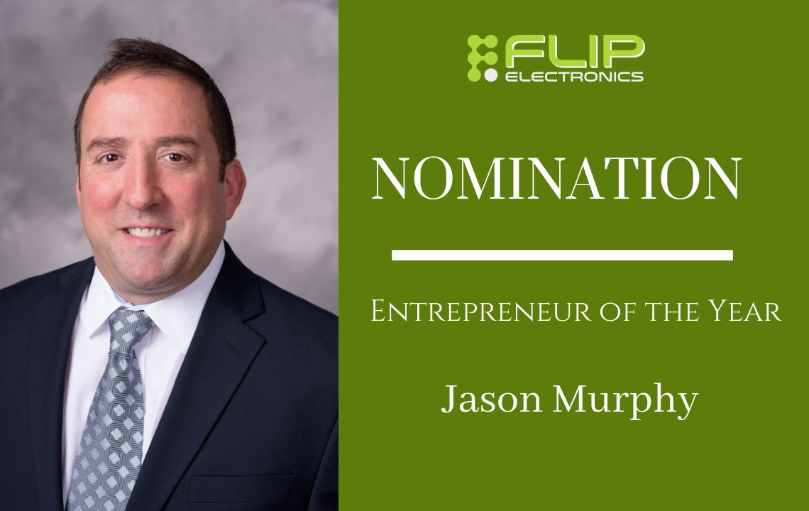 Photo of Jason Murphy Announcing His Nomination
