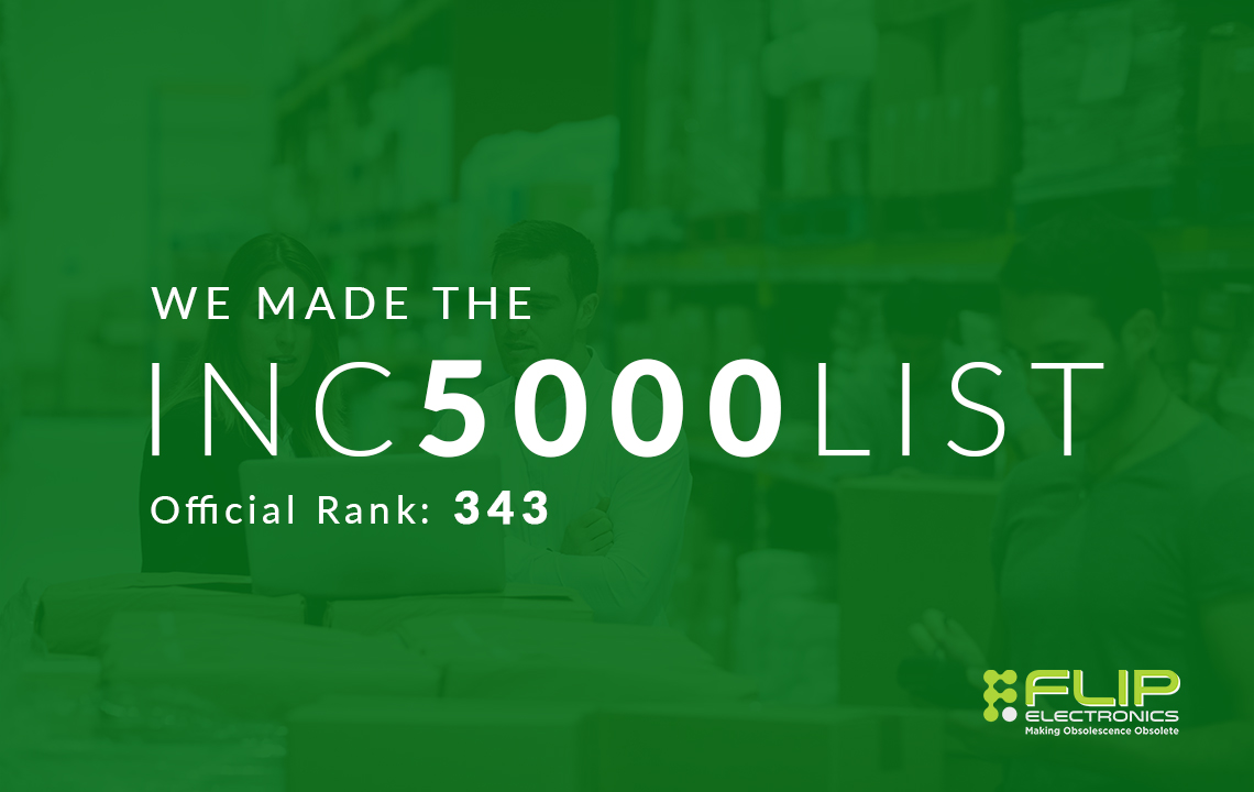 Flip Electronics Makes the Inc. 5000 List for 2020