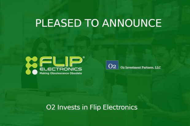 O2 Invests In Flip Electronics