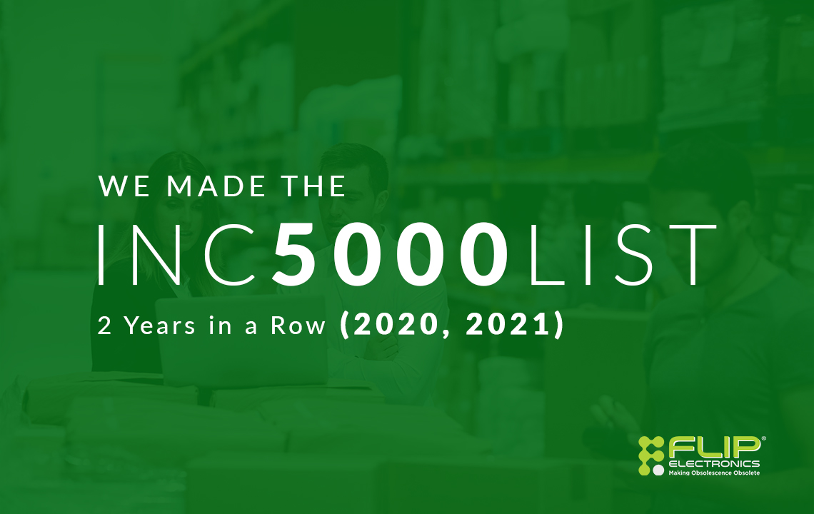 Flip Electronics Makes Inc 5000 2 years in a row